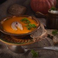 Любимый супчик из тыквы :: Анастасия Богатова