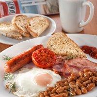"""Завтрак """"по-английски"""" :: Анастасия Богатова"""