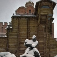 Снег город почти ослеп..... :: Злобный Шашель