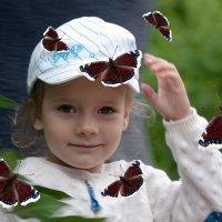 С бабочками :: Владимир Миронов