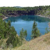 Голубое озеро :: Вера Щукина