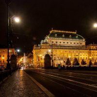Ночная Прага :: Сергей Т