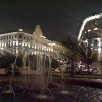 Фонтан вечером :: Митя Дмитрий Митя