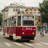 Легендарный Новосибирский трамвай №13 :: Дима Пискунов