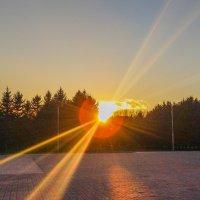 Закат солнца в ручную... :: cosmos-27