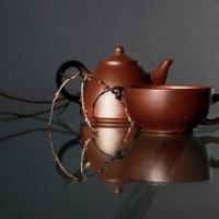 Этюд  с  чайной  парой  (1) :: Наталья Казанцева