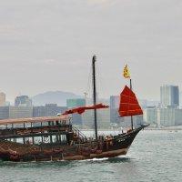 Китайская джонка(лодка) :: Елена