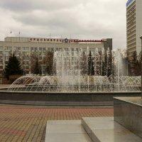 Красноярск.Театральная площадь. :: Светлана Винокурова