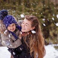 Снежные радости. :: Анна Печкурова