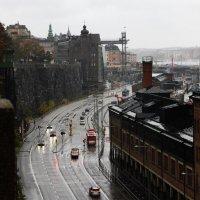 Стокгольм. Дождь. :: Александр Яковлев