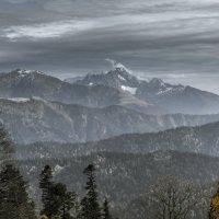 Большой кавказский хребет. :: Максим Гуревич