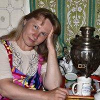 Таня после деревенской бани. :: Владимир Ильич Батарин