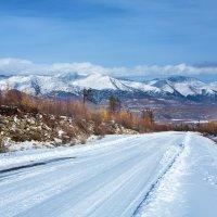 Снежная дорога в горный край :: Анатолий Иргл