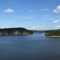 Река Влтава. Чехия. :: Николай Рогаткин