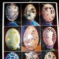 Искусство резьбы по скорлупе яиц страуса :: Надежда