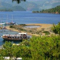 Турция. На одном из островов бухты Фетхие :: Андрей Левин
