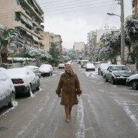 В Греции снег - редкость! :: Оля Богданович