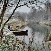 Зимняя река :: Olcen - Ольга Лён