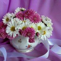 Подари букетик хризантем :: Татьяна Смоляниченко
