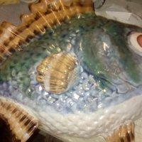 Керамическая рыба из петербургской мастерской. :: Светлана Калмыкова