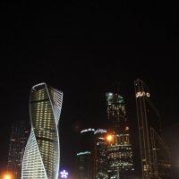 Ночная Москва Сити :: Кристина Куликова
