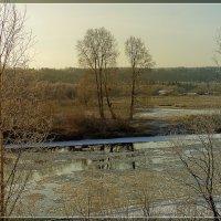 Одевает панцерь река :: Виктор Бондаренко