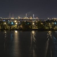 Ночная Сызрань. :: Андрей Лобанов
