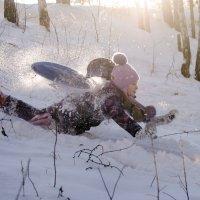 Зимние забавы :: Лариса Сливина