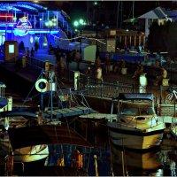 Синий вечер на балаклавской набережной :: Кай-8 (Ярослав) Забелин