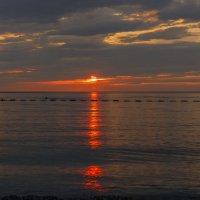 Закат над Адриатическим морем.Черногория. :: Татьяна Калинкина