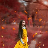 Госпожа Осень :: Елена Нор