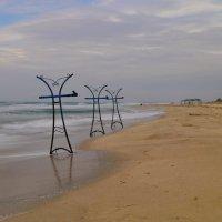 осенний пляж :: Андрей Козлов