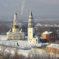 Невьянск  в первом снегу :: d2vnlp *
