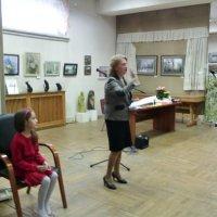 Сегодня в Краеведческом музее г. Люберцы состоялось закрытие выставки. :: Ольга Кривых