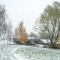 Снег в октябре 23 :: Виталий