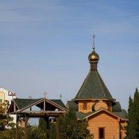 Храм в честь преподобного Сергия Радонежского :: Александр Рыжов