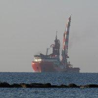 Корабль в дымке :: Татьяна Осипова(Deni2048)