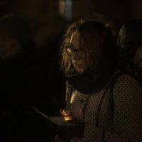 Возвращение имён, 29.10.2016. Москва, Лубянская пл., Соловецкий камень :: Николай Алексеев