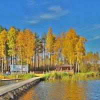 Бунгало на озере :: Валерий Талашов