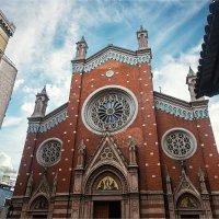 Католическая церковь Св. Антуана Падуанского в Стамбуле :: Ирина Лепнёва