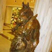 Девушка с двумя конями :: Дмитрий Никитин