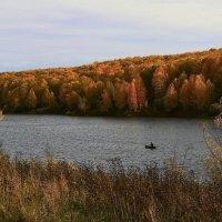 Осенний рыбак :: Сергей Жуков