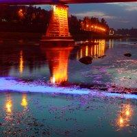 ночной Ужгород :: Valentyn Semenov