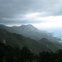 Черногория.Гроза в горах. :: Лариса (Phinikia) Двойникова