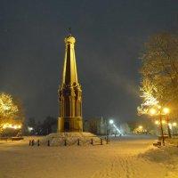 В Полоцке сегодня. Памятник героям Отечественной войны 1812 год. :: Андрей Буховецкий