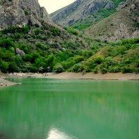 зеленое озеро :: nat купр