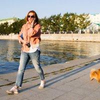 Дама с собачкой (современная версия). :: Мила ...