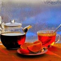Чай на подоконнике :: Сергей Чиняев