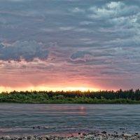 На закате :: Евгений Карский
