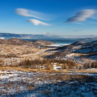 Облака над озером :: Анатолий Иргл